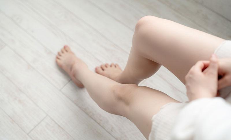 膝のたるみ